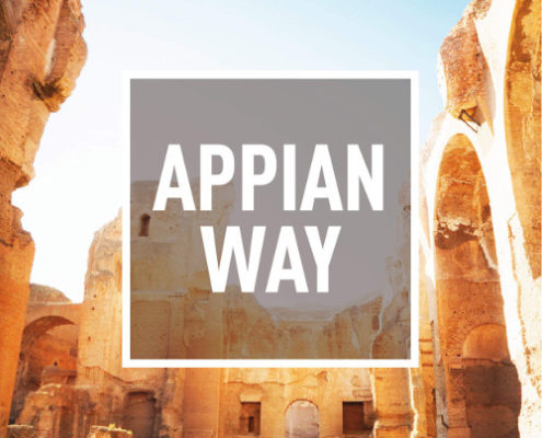 Click for more information about the Appian Way Bike Tour