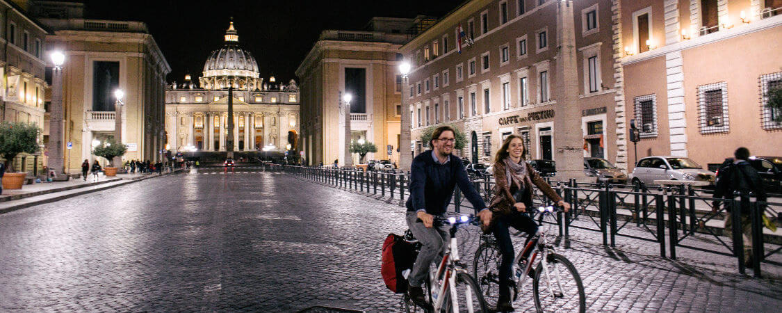 They way Rome is illuminated at night is second to none.