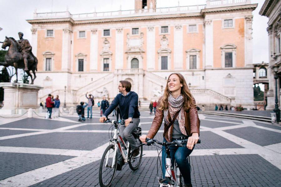 Exklusiv private Fahrradtouren in Rom.