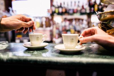 Taste Rome's world famous Espresso.