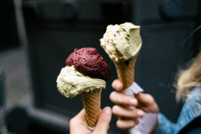 Italy is world famous for its gelato - taste one of the best on our tour.