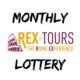 The Logo of the new Rex-Tours monthly lottery