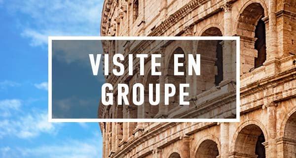 Façade du Colisée lors de la visite du Colisée de Rex-tours.