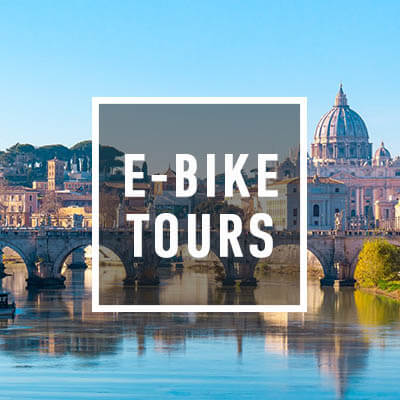 E Bike Tours Rome Square