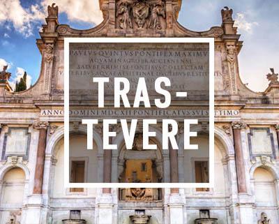 Rom Trastevere Segway Tour vor dem Fontanone des Janiculumshügel