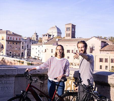 Rom City E-Bike Fahrradtour