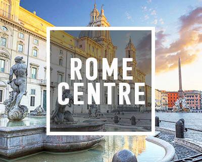 La place Navone lors de la visite du Centre de Rome à vélo de Rex-Tours