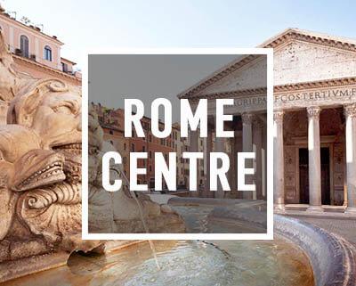 Le Panthéon durant la visite du centre historique de Rome