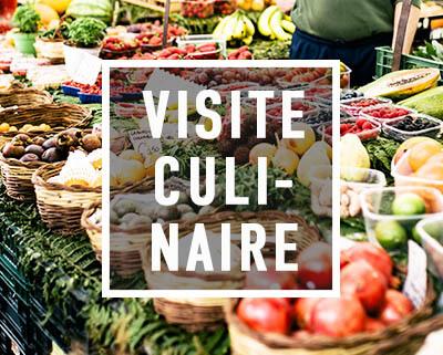 Étalage du marché du Campo de'Fiori lors de la visite culinaire de Rome.