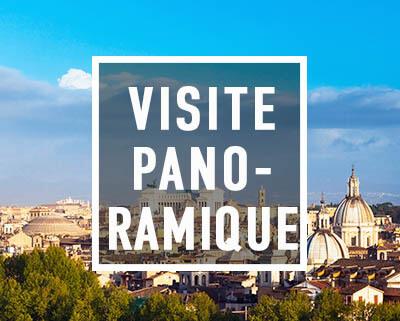 La vue sur Rome depuis la place Garibaldi durant la Visite Panoramique de Rex-Tours